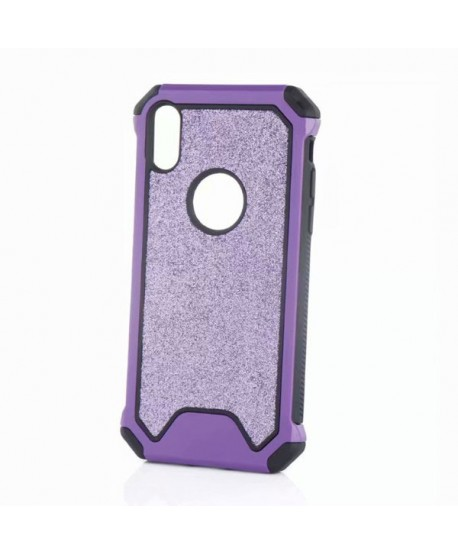 iPhone XR Rugged Glitter Protective Case