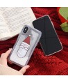 iPhone Santa Claus Liquid Glitter Case
