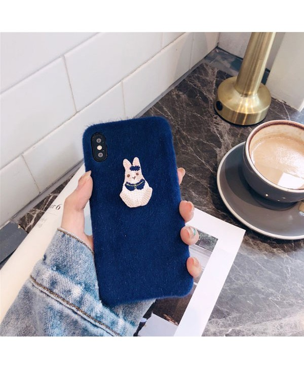 iPhone Fuzzy Rabbit Protective Case