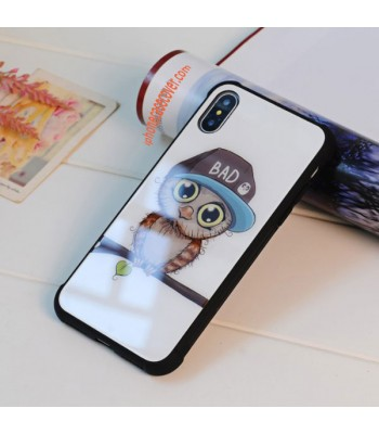 Tempered Glass iPhone Cases - The Owl