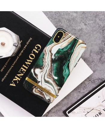 Emerald Marble Effect iPhone Case