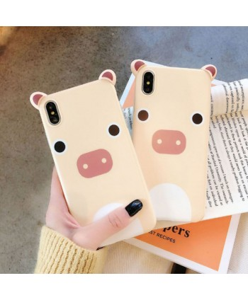 Cute 3D Cartoon Piggy iPhone Case