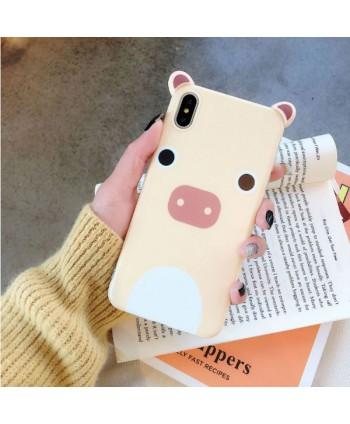 Cute 3D Cartoon Piggy iPhone Case