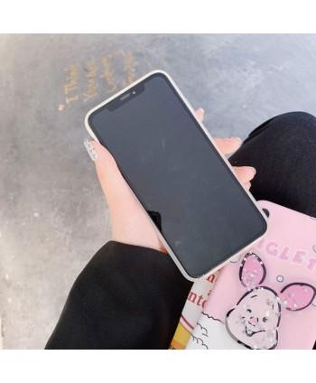 iPhone Piglet Liquid Glitter Case