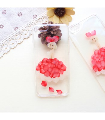 Dried Flower iPhone Case - Petal Fairy