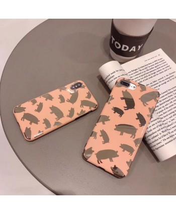 iPhone Bronzing Piggy Protective Case