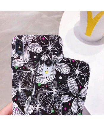 iPhone Floral Pattern Protective Case