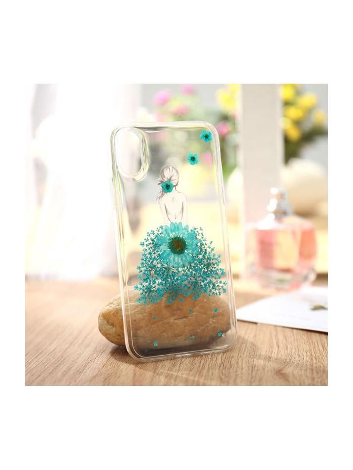 Pressed Flower iPhone Case - Sunflower Girl