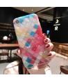 iPhone Colorful Lattice Mermaid Scale Case