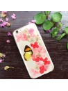 Pressed Flower iPhone Case - Butterfly loves flower