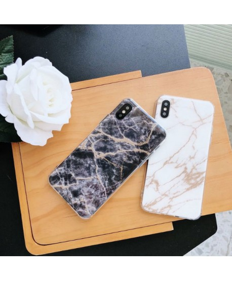 sale retailer 28b0c dd023 iPhone X Marble Effect Protective Case