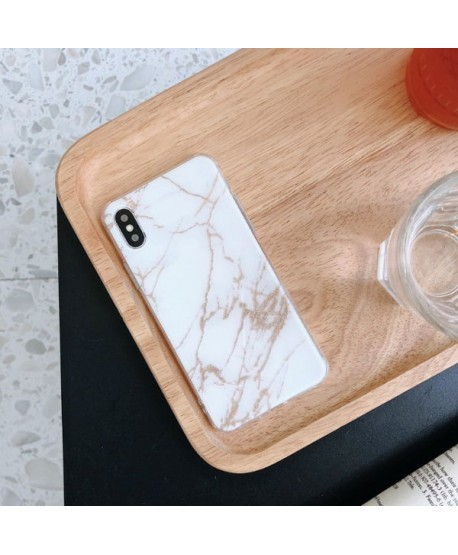iPhone XS Marble Effect Protective Case