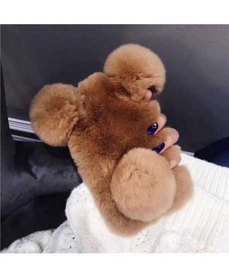 Cute Fluffy Fuzzy Panda iPhone XS Case