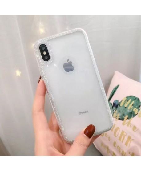 iPhone X Bling Rhinestone Glitter Powder Case