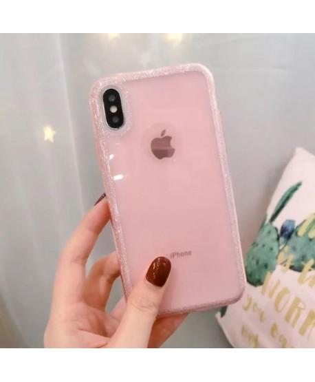 iPhone XS Bling Rhinestone Glitter Powder Case