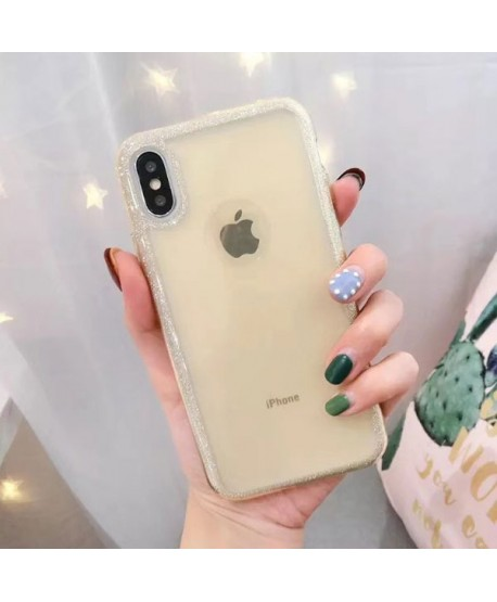 iPhone XS Bling Rhinestone Glitter Powder Case