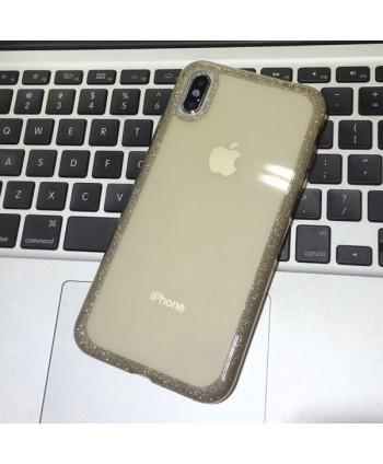 iPhone XR Bling Rhinestone Glitter Powder Case