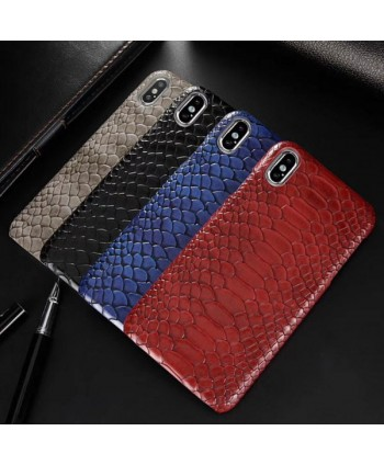 Luxe Snakeskin iPhone X Protective Case