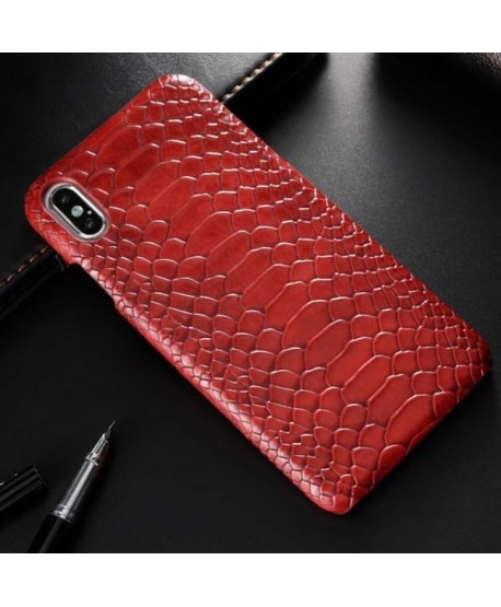 Luxe Snakeskin iPhone XR Protective Case