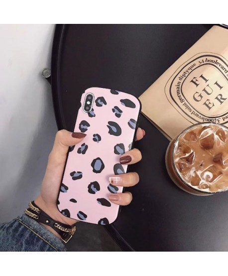 iPhone XS Max Shield Leopard Print Case Pink