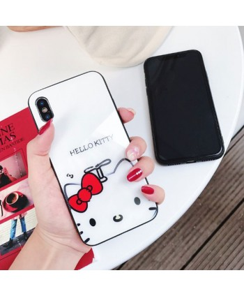 iPhone Slim Hello Kitty Tempered Glass Case