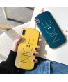 Couple iPhone X Shield Smiley Face Case