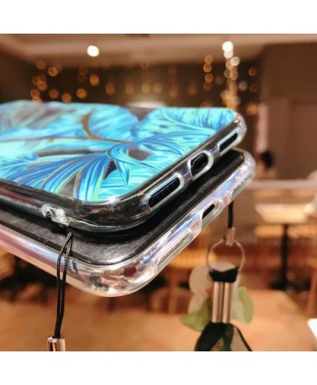 iPhone X Bronzing Banana Leaf Protective Case
