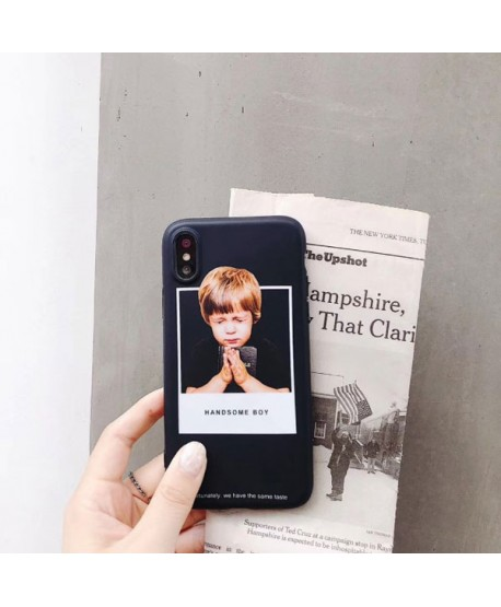 iPhone XS Max Matching Couple Little Boy/Girl Case
