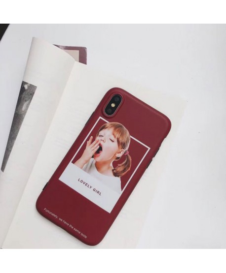 iPhone XR Matching Couple Little Boy/Girl Case