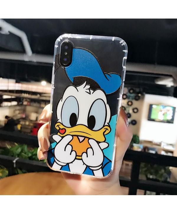 Couple iPhone X Disney Donald/Daisy Duck Case