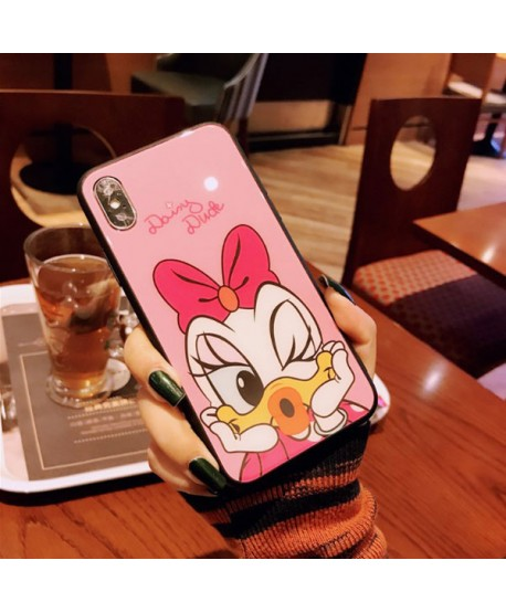 Couple Disney Donald Duck & Daisy Duck iPhone XS Case