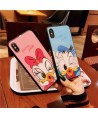 Couple Disney Donald Duck & Daisy Duck iPhone X Case