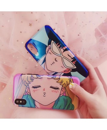 iPhone X Matching Sailor Moon & Chiba Mamoru Case For Couples