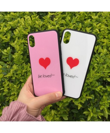 Love Heart Tempered Glass...