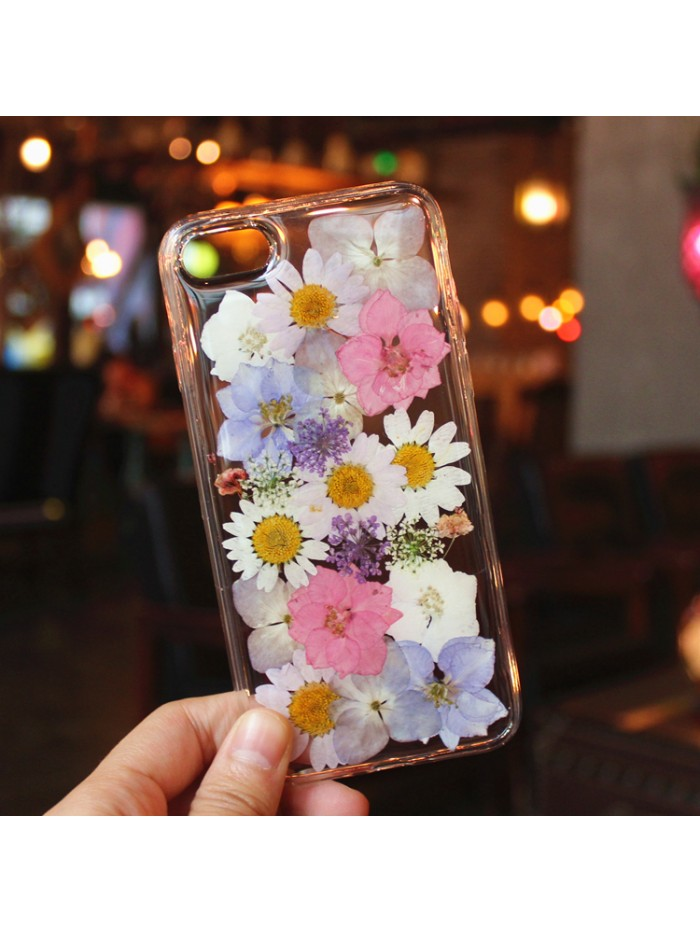 Dried Flower iPhone Case - Spring Flowers