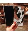 iPhone X Clear Bling Rhinestone Case