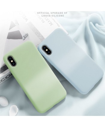 Full Protection iPhone XR Soft Liquid Silicone Case
