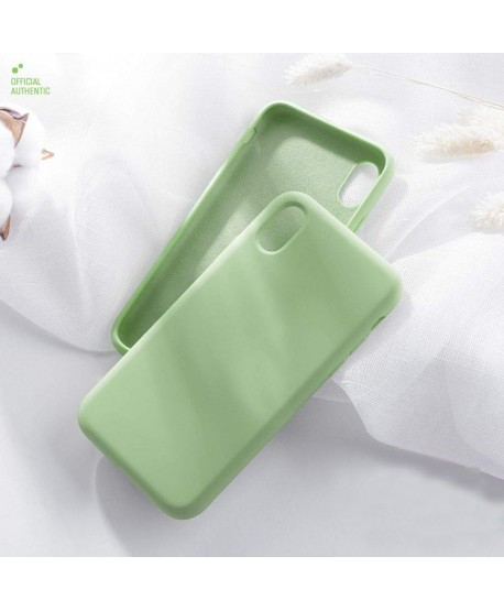 Full Protection Soft Liquid Silicone Case for iPhone