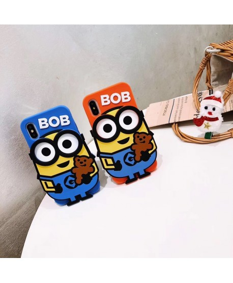 BOB Minions iPhone Silicone Case