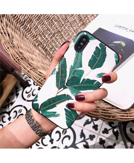 Creative Banana Leaf Protective Case for iPhone