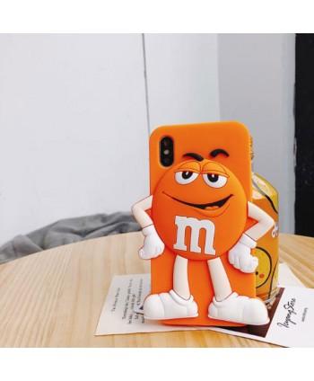 iPhone X M&M Chocolate Bean Silicone Case