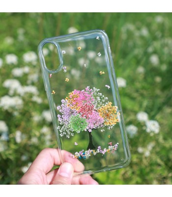 Dried Flower iPhone Case - Lucky Tree