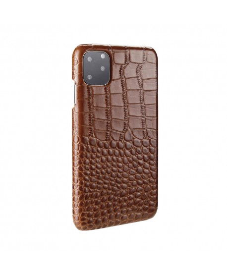 Luxury Alligator Genuine Leather Case For iPhone 11