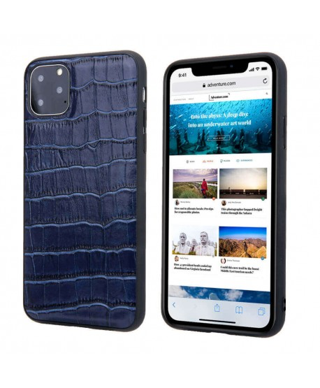 Luxury Alligator Genuine Leather Case For iPhone 11 Pro