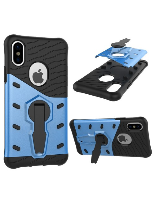 Blue Shockproof Rugged Case Cover for iPhone Xs Max
