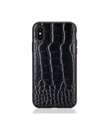 Luxury Alligator Genuine Leather Case For iPhone Xs Max