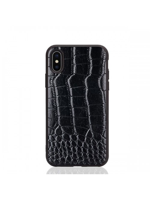 the best attitude 7c1f2 a33e3 Luxury Alligator Genuine Leather Case For iPhone Xs Max