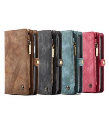 Luxury iPhone XR Genuine Leather Wallet Case