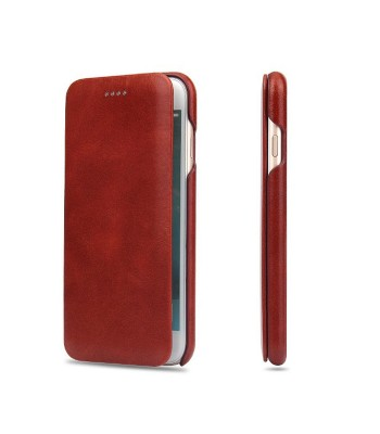 iPhone XR Genuine Leather Folio Phone Case