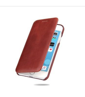 iPhone XR Genuine Leather Folio Phone Case